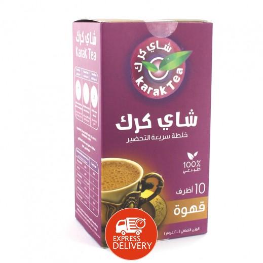 كرك - شاي بنكهة القهوة سريع التحضير 10 أكياس × 20 جم
