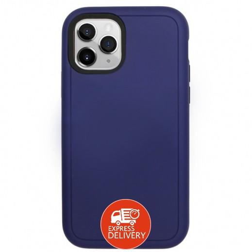 سيليريز - غطاء حماية خلفي لهاتف ايفون 11 Pro Max – ازرق