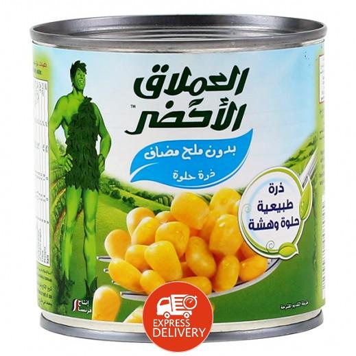العملاق الأخضر – ذرة حلوة (بدون ملح مضاف) 340 جرام
