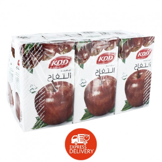 كى دى دى - عصير التفاح 250 مل ( 6 حبة )