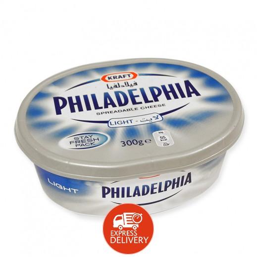 """كرافت - جبنة كريم """" فيلادلفيا """" قليلة الدسم قابلة للدهن 300 جم"""