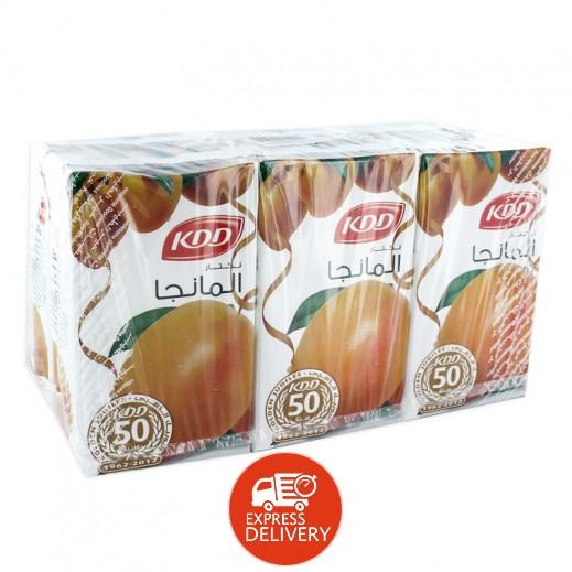 كى دى دى - عصير المانجو نكتار 250 مل ( 6 حبة )