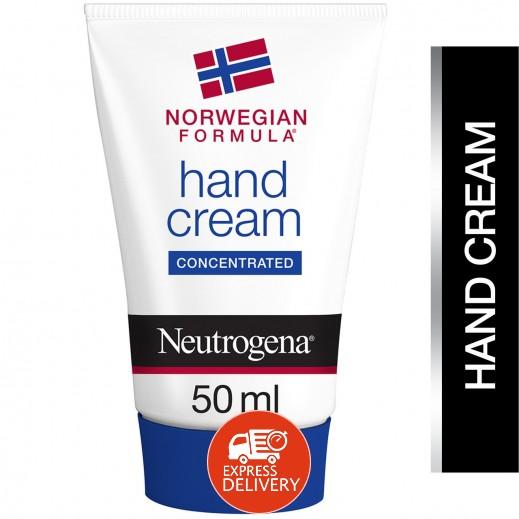 نيوتروجينا - كريم لليدين بالتركيبة النروجية للأيدي الجافة والمتشققة 50 مل