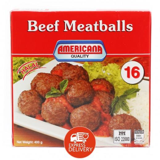 أمريكانا – كرات لحم بقري 400 جم