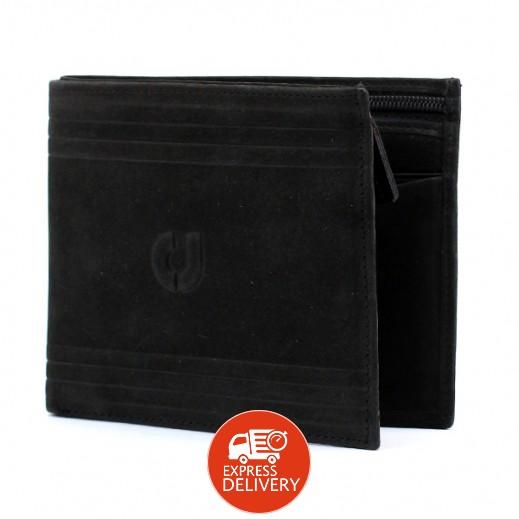 تشارلز جوردان – محفظة جلدية رجالية JLW914 – أسود
