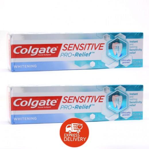 كولجيت – معجون أسنان سينسيتيف برو لتبيض الأسنان الحساسة 75 مل (2 حبة) - عرض التوفير