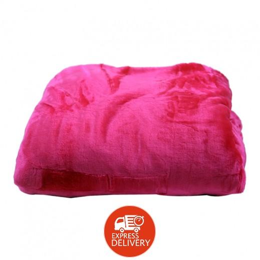 بطانية دفاية صيني (180 × 220 سم) - (ألوان متعددة)