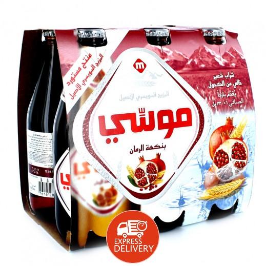 موسي – مشروب الشعير بنكهة الرمان 330 مل ( 6 حبة )