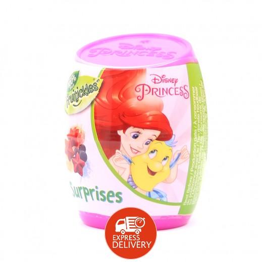 ديزني – حلوى الفواكة المطاطية مع ألعاب بتصميم الأميرات كبسولة 6 جم