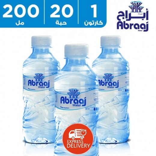 أبراج – مياه شرب نقية 20 × 200 مل