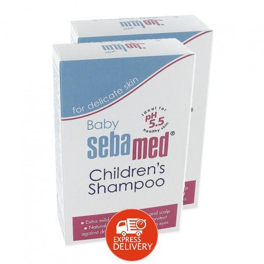 سيباميد – شامبو للأطفال (2 حبة × 250 مل) - عرض التوفير