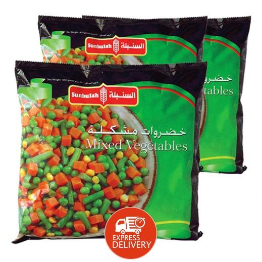 السنبلة - خضروات مشكلة 450 جم (2 حبة + حبة مجاناً)