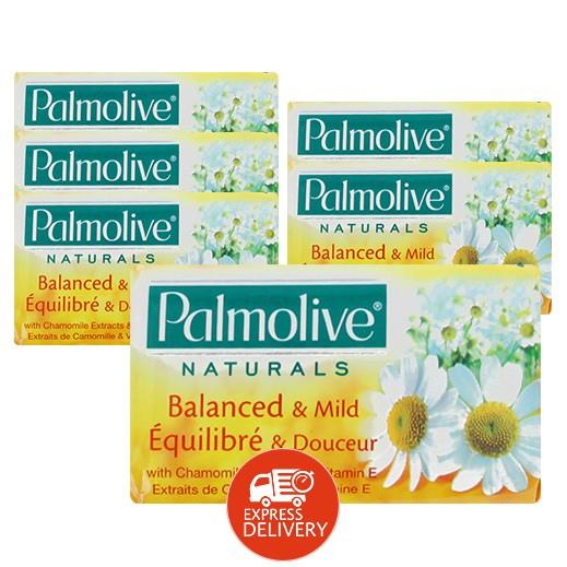 بالموليڤ – صابون أبيض 125 جم ( 6 حبة )