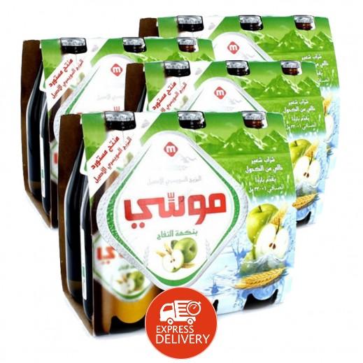 موسي – مشروب الشعير بنكهة التفاح 330 مل ( 4 كرتون × 6 حبة ) – أسعار الجملة