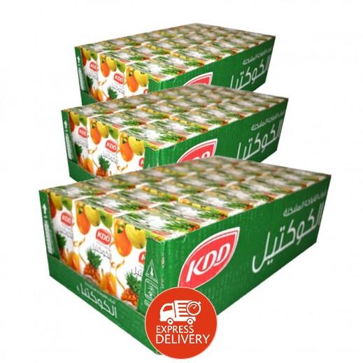 كى دى دى - عصير الكوكتيل 250 مل ( 3 كرتون × 24 حبة ) - أسعار الجملة