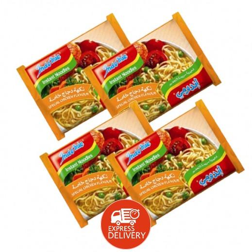 إندومي - شعيرية سريعة التحضير بنكهة دجاج خاصة 75 جم × 40 حبة - أسعار الجملة
