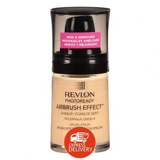 "ريفلون- كريم أساس ""فوتو ريدي"" Vanilla (رقم 002)"