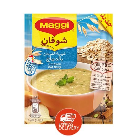 ماجي – شوربة الشوفان بنكهة الدجاج 65 جم