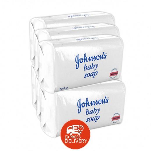 جونسون - صابون للأطفال 125 جم × 6 حبة - أسعار الجملة