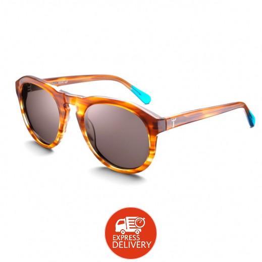 """تريوا – نظارة شمسية موديل """" Horn Damien"""" لكلا الجنسين SHAC115"""