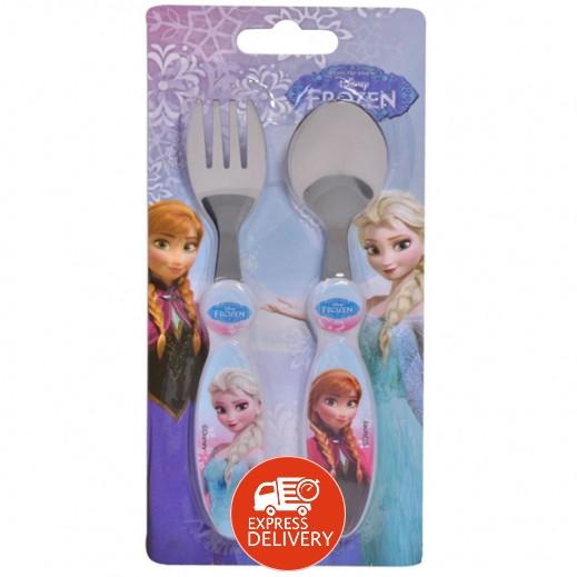 """ديزني – أدوات مائدة """" فروزن """" للميكرويف 2 قطعة للأطفال"""