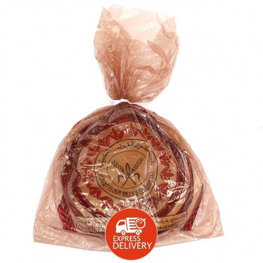 المطاحن - خبز أسمر 5 حبة ( 375 جم )