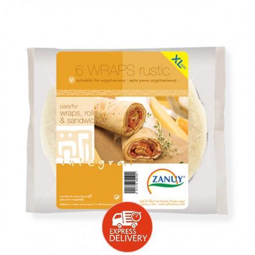 زانوي – لفائف خبز التورتلا الريفي  396 جم XL (6 حبة)