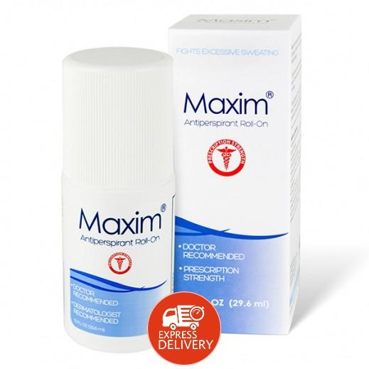 مكسيم – رول مزيل العرق الموصِي به الأطباء 29.6 مل