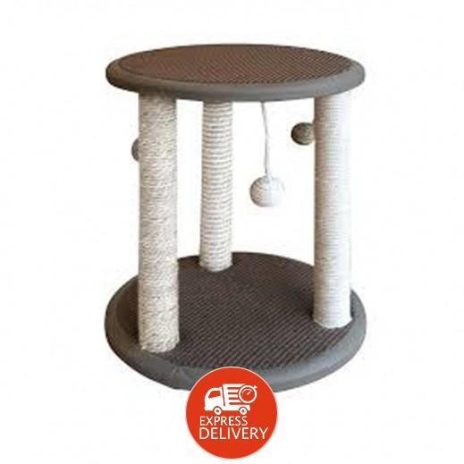 باوايز - كرسي اللعب جاتو للقطط مع منصة من طبقتين 40×40×45 سم