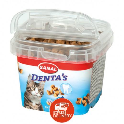 سانال كات – حلوى دينتا للقطط 75 جم