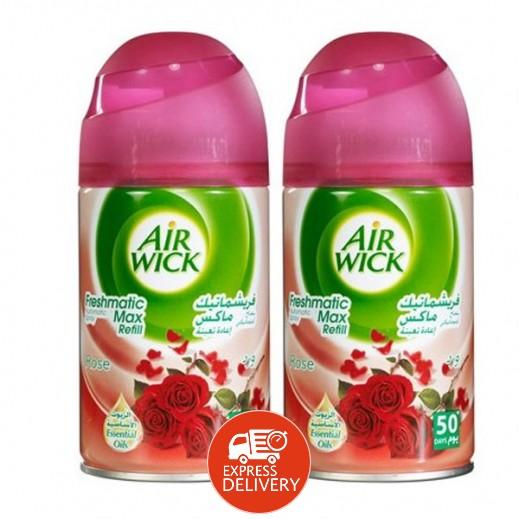 أيرويك – عبوة إعادة تعبئة برائحة الورد - 2 حبة × 250 مل (عرض 25% خصم)