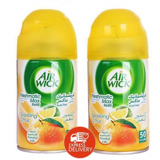 """ايرويك – بخاخ أوتوماتيكى معطر هواء """"الليمون المنعش"""" -2 ×250 مل(عرض 25 % خصم)"""