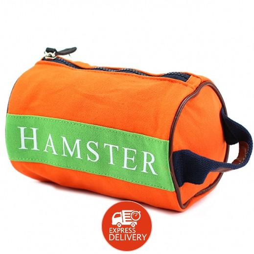 هامستر – حقيبة يد رجال صغيرة برتقالي/أخضر