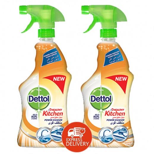 ديتول – منظف المطبخ برائحة البرتقال 2 حبة × 500 مل (خصم 20%)
