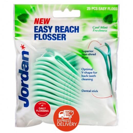 جوردان – خِلة لتنظيف الأسنان 25 حبة