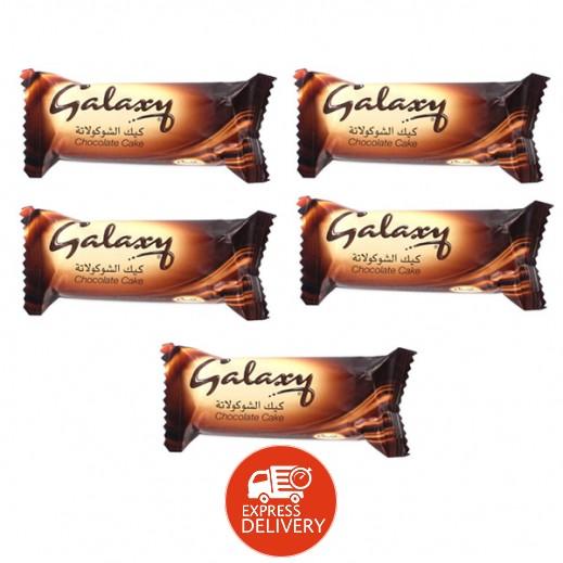 جالاكسي - كيك الشوكولاتة 5 × 30 جم