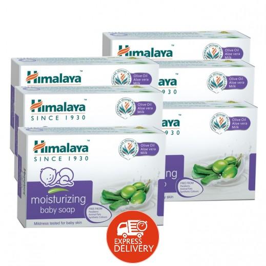 هيمالايا - صابون مرطب للاطفال بالألوفيرا 6×125 جم