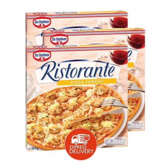"""د.أوتكر – بيتزا """" ريستورانتي"""" جاهزة بطعم الفطر 3 × 365 جم"""