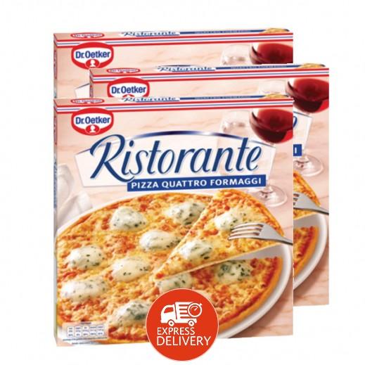 """د.أوتكر – بيتزا """" ريستورانتي"""" جاهزة بطعم الجبنة 340 جم (3 حبة) - عرض التوفير"""