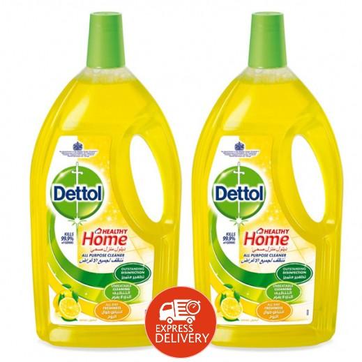 ديتول منظف لجميع الأغراض - الليمون 2 × 1.8 لتر