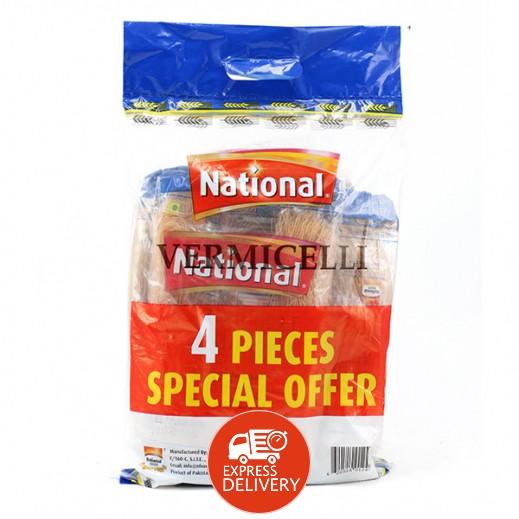 ناشونال - شعيرية 150 جم (4 حبة)