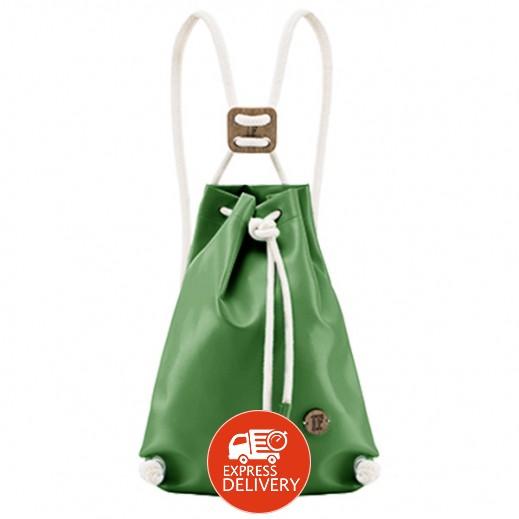 """إف باجز - حقيبة ظهر """"كابتن كلوروفيلا"""" - لون أخضر غامق"""