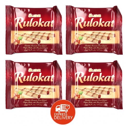 أولكر - شوكولاته ويفر رولكات 24 جرام (4 حبة)