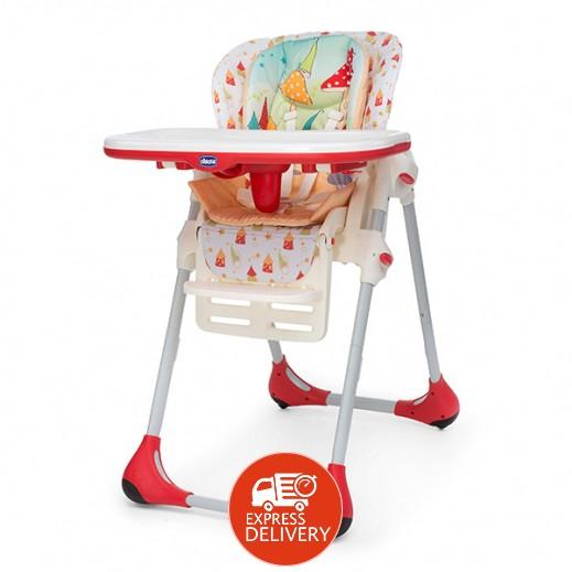 شيكو - كرسي بولي 2 في 1 المرتفع للأطفال