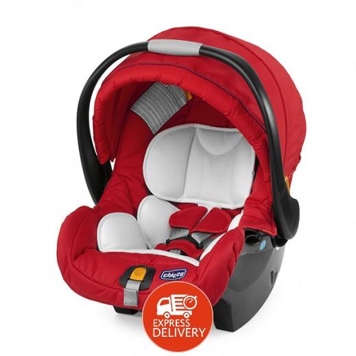 شيكو - مقعد السيارة كي فيت إي يو للأطفال - لون أحمر (موديل: 04079064700000)