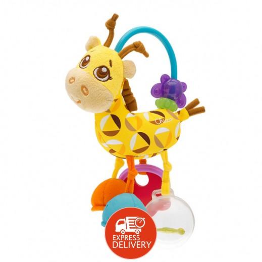 شيكو - لعبة خشخيشة الزرافة فيرست أكتيفيتي للأطفال