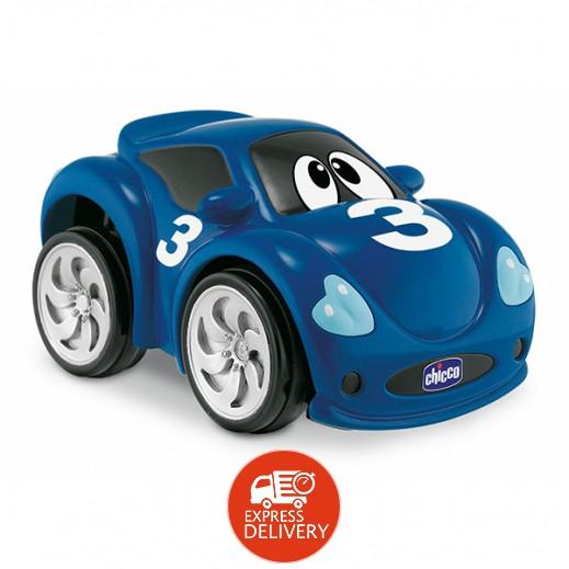شيكو - لعبة السيارة السريعة توربو تاتش للأطفال - لون أزرق