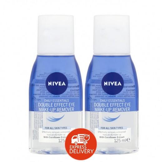نيفيا - مزيل مكياج العيون بمفعول مضاعف (2 × 125 مل)