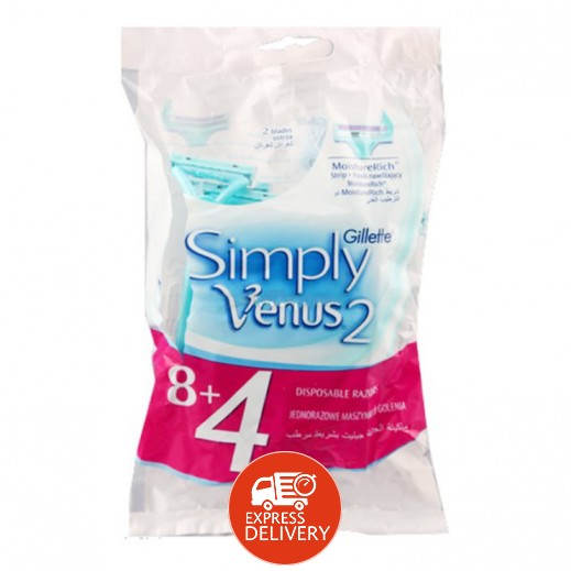جيليت – شفرات حلاقة فينوس – (8+4 حبة مجاناً)