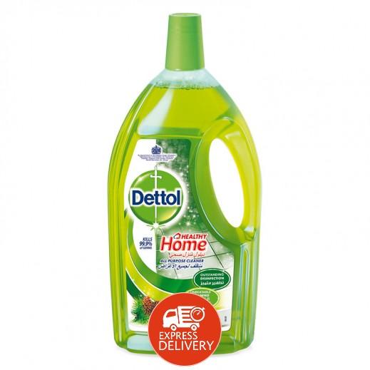 ديتول – منظف هوم هيلثي متعدد الأغراض برائحة الصنوبر 3 لتر